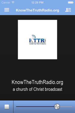KnowTheTruthRadio.org screenshot 1