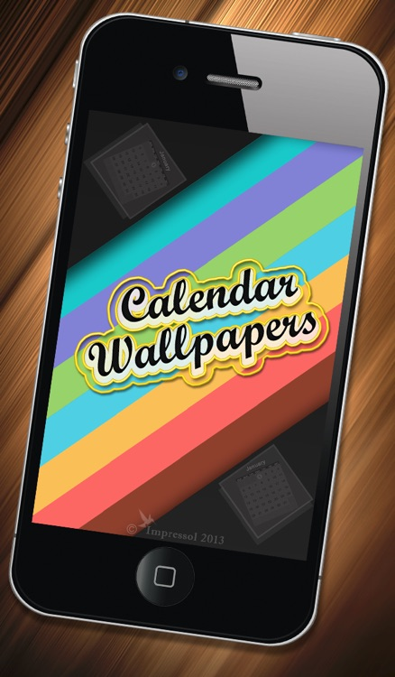 Calendar Wallpaper App : Wallpaper calendar for ios by v lokeswara reddy