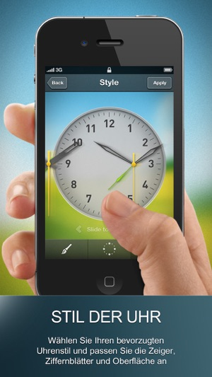 Alarm Clock Wake Up Time - Wecker Wake Up Time mit musikalischem Sleep Timer & örtlicher Wetterinformation Screenshot