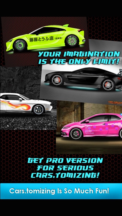 Cars.tomizer - Customize Your Ride!
