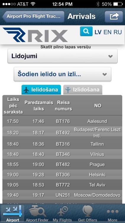 Riga Airport Info + Flight Tracker screenshot-3