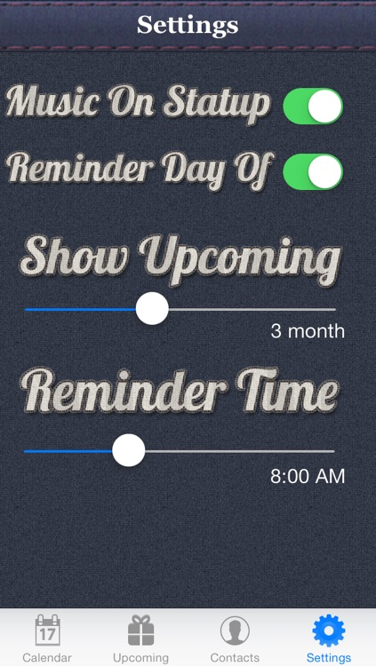 Birthday Reminder & Calendar+ screenshot-3