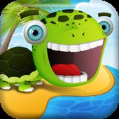 海滩上快乐的青蛙与朋友去免费轰 A Beach of Happy Frog & Friends Goes Boom FREE