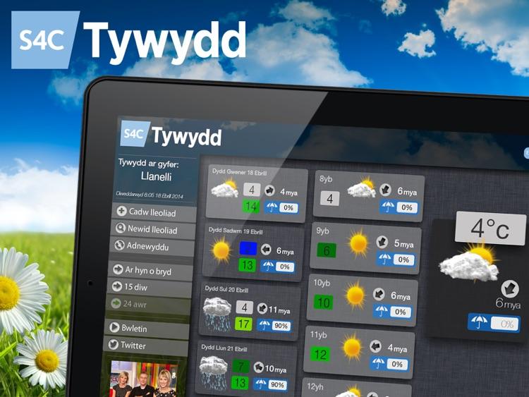 Tywydd S4C Weather for iPad