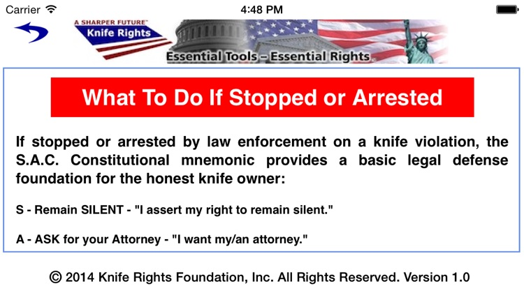 Knife Rights LegalBlade™ screenshot-3