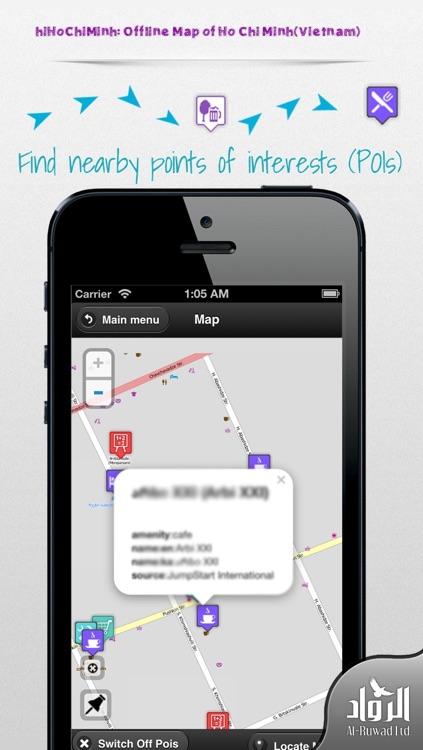 hiHoChiMinh: Offline Map of Ho Chi Minh(Vietnam)