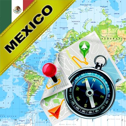 Mexico - Offline Map & GPS Navigator