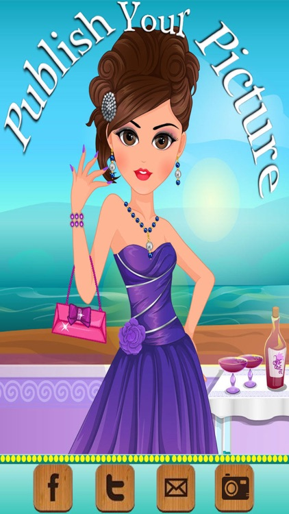 Prom Preparation Makeover-Spa, Makeover and Dress up-Girls games screenshot-4