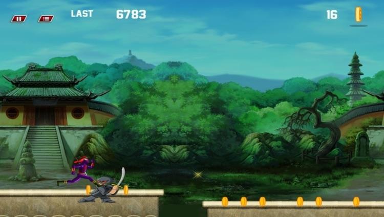 Amazing Ninja Revenge Run  - Free screenshot-3