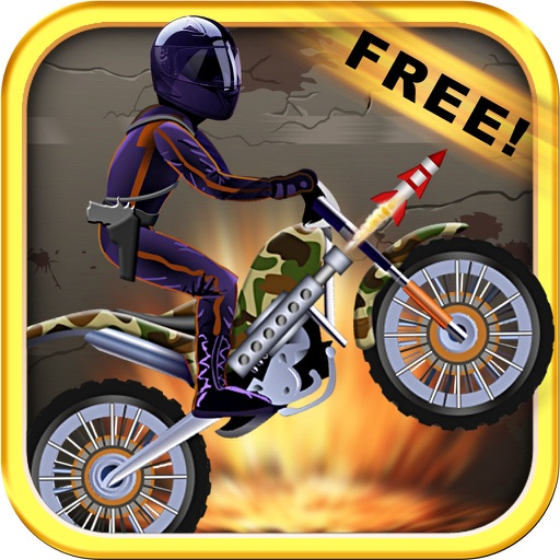Bikes and Zombies Game FREE - Armor Dirt Bike Fighting Shooting Killing Games iOS App