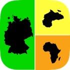 Allo! Acho que o país mapa geografia Quiz Curiosidades - o que é o ícone neste teste de imagem icon