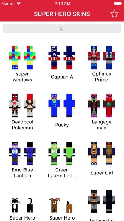 Super Hero Skins for Minecraft PE (Best Skins HD for Pocket Edition) screenshot-3