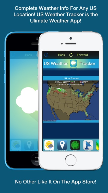 US Weather Tracker Free - Weather Maps, Radar, Severe & Tornado Outlook & NOAA Forecast screenshot-4