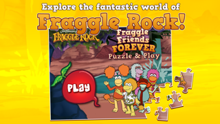 Fraggle Friends Forever Puzzle & Play screenshot one
