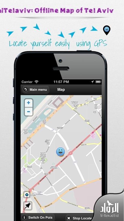 hiTelaviv: Offline Map of Tel Aviv