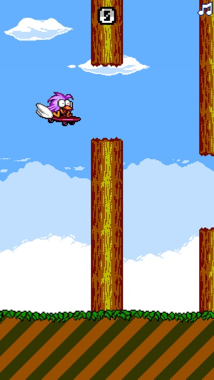 Skate Bird - The Adventure of a Flappy Tiny Bird