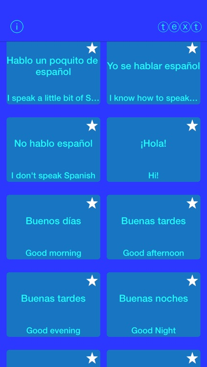 Easy Spanish Texting screenshot-0