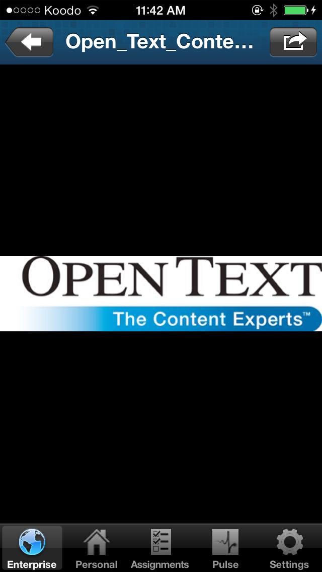 OpenText Everywhere screenshot four