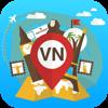 Vietnam Guía y mapa de viaje Desconectado Offline. Visitas ciudad: Hanoi,Ho Chi Minh,Tay Ninh,Delta del Mekong