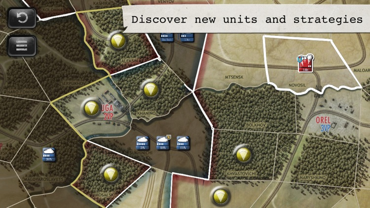 Drive on Moscow: War in the Snow screenshot-4
