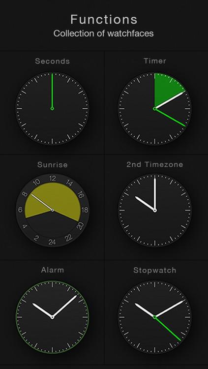 Circles - Smartwatch Face and Alarm Clock screenshot-3