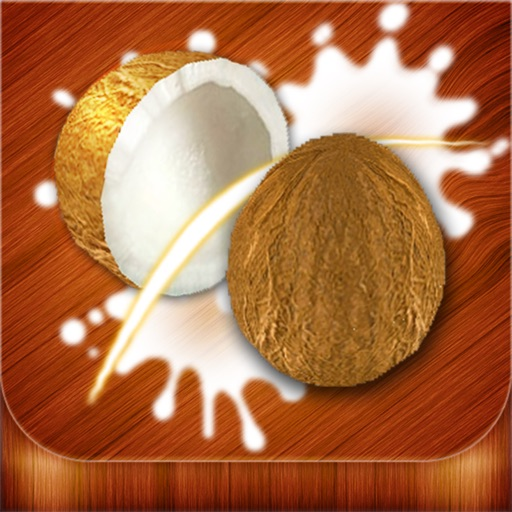 Coconut Craze - Fruit Slice Game In Caribbean icon