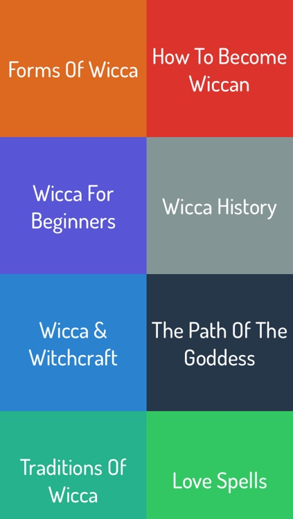 Wicca Guide screenshot-0