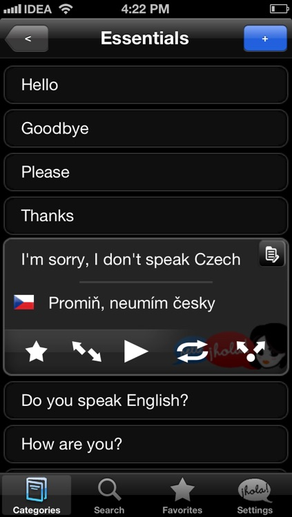 Lingopal Czech LITE - talking phrasebook