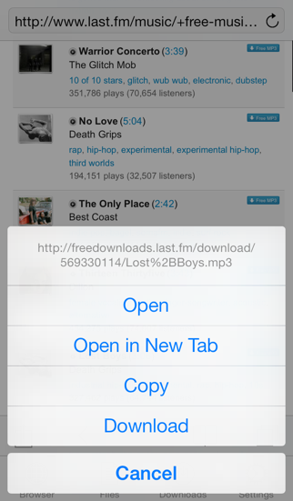 Screenshot for DownloadMate - Music, Video, File Downloader & Manager in Egypt App Store