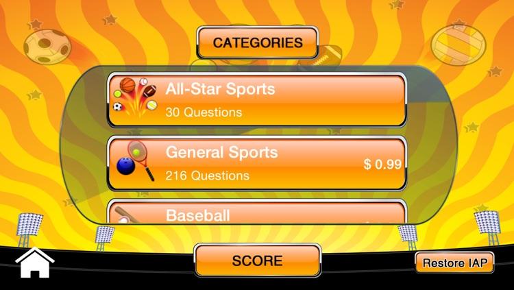 All-Star Sports Trivia!