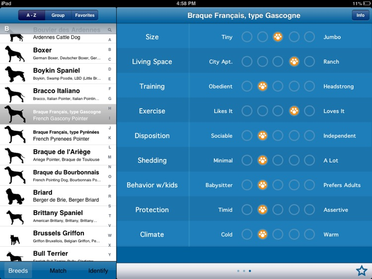 Perfect Dog HD Free - Ultimate Breed Guide To Dogs screenshot-3