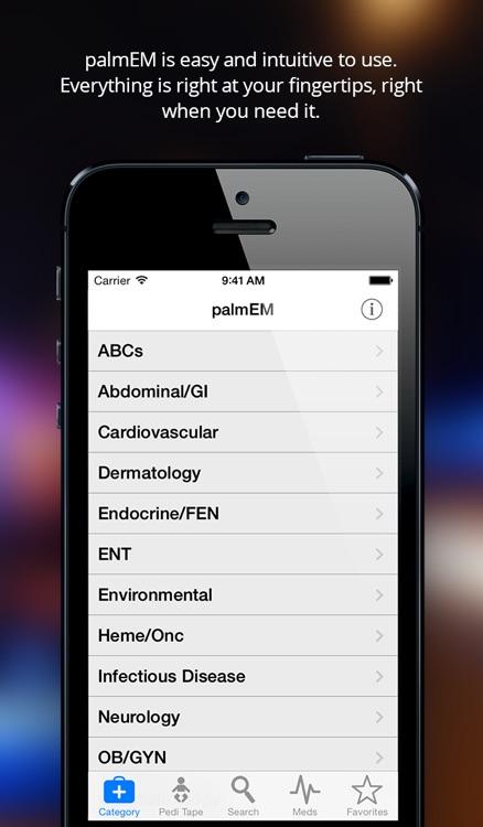 palmEM: Emergency Medicine Essentials & Urgent Care Quick Reference Pocket Guide