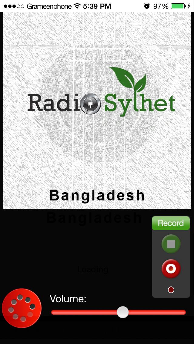 RadioSylhet screenshot three