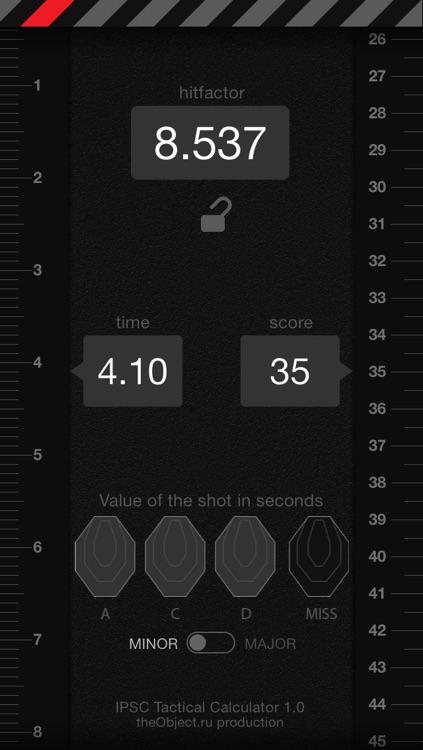 IPSC Tactical Calculator screenshot-3