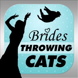 Brides Throwing Cats - The Best Wedding Planner Photos Featuring Flying Cat and Kitten Bouquets