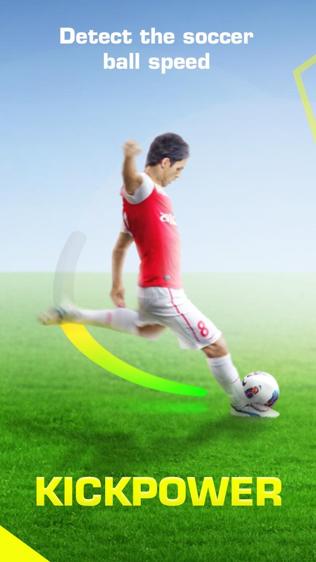 KickPower - Soccer Ball Speed Detector screenshot one