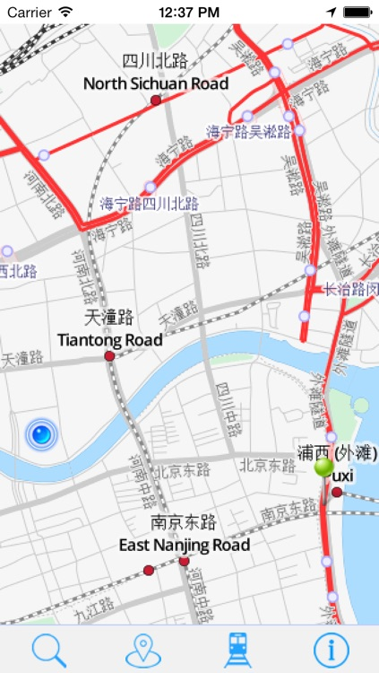 Offline Map Shanghai - Guide, Attractions and Transport screenshot-4