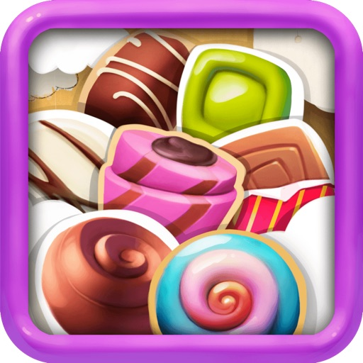 Candy Sweet Kingdom Match-3 - Funny Fruit Puzzle Game For Kids HD FREE