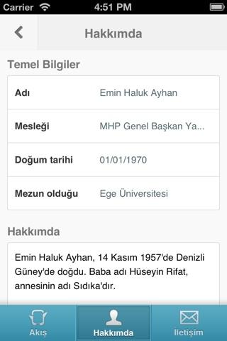 Screenshot of Haluk Ayhan