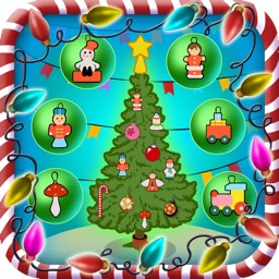 Xmas / Christmas Tree Dressing up Game for Kids
