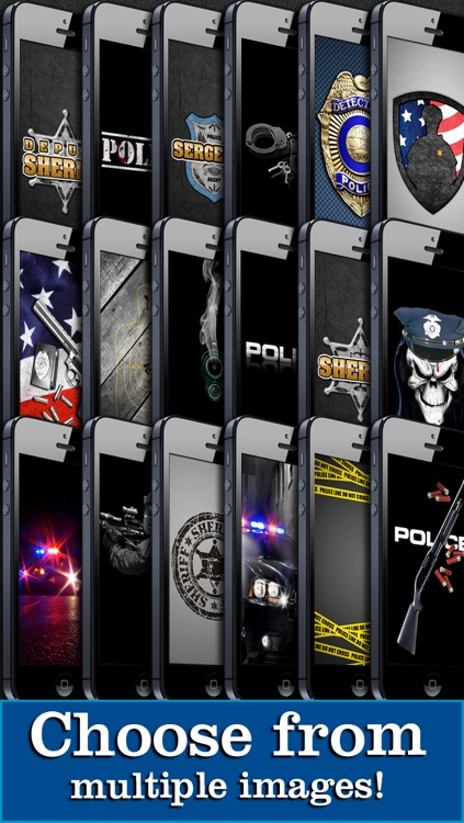 Police Themes! Backgrounds, Wallpaper, & Lock Screens screenshot-4