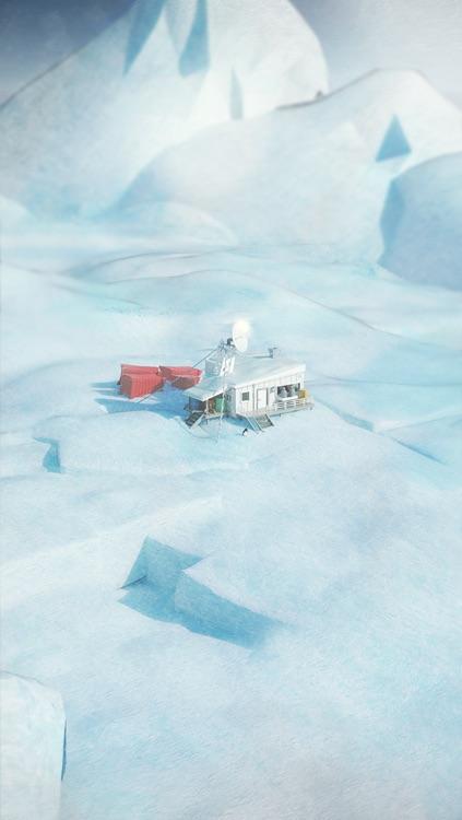 In Antarctica: A Comic Escape