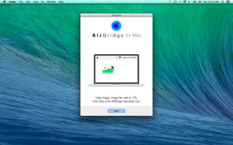 AirBridge Screenshot