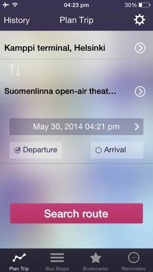 在app Store 上的 Ontimely Helsinki Reittiopas Aikataulu Ja