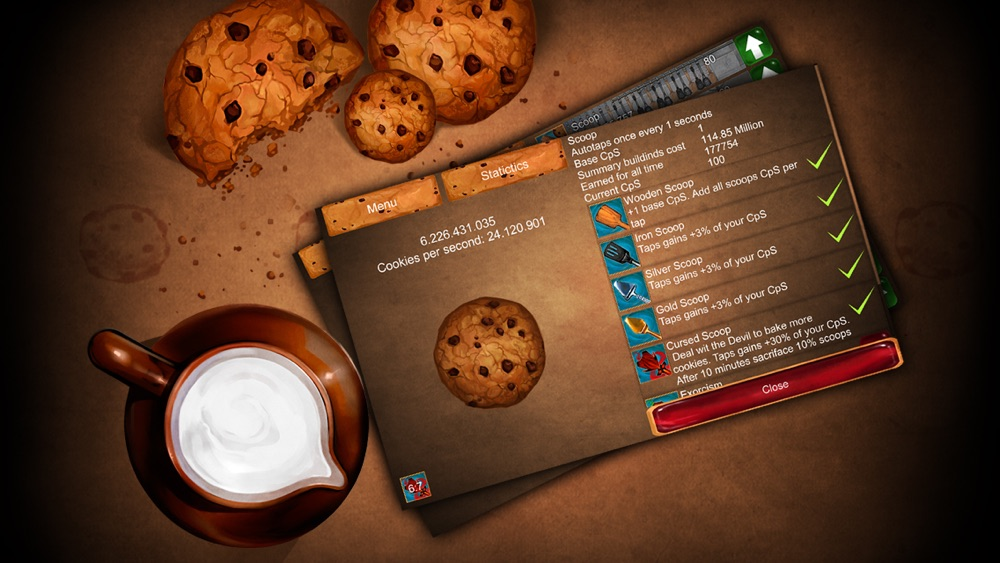 Tap the Cookie hack tool