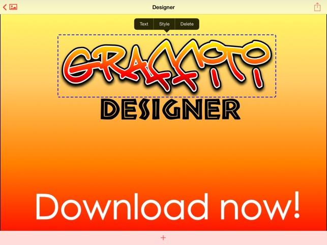 Graffiti Designer on the App Store