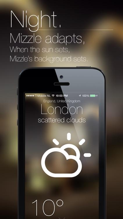 Mizzle: The Weather App screenshot-4