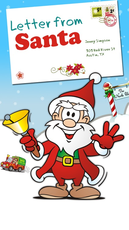 Letter from santa get a christmas letter from santa claus by mario letter from santa get a christmas letter from santa claus spiritdancerdesigns Gallery