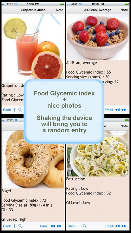 350 Glycemic Index screenshot-0