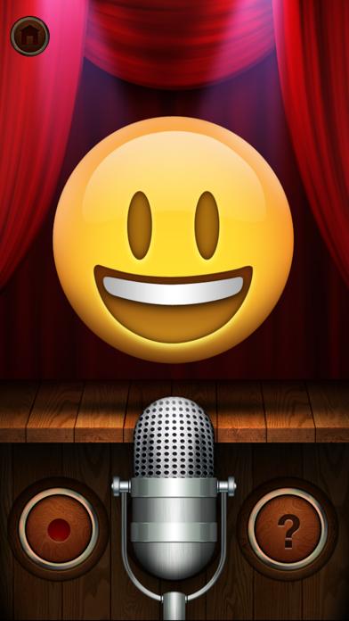Talking Emoji Pro - Send Video Texting Emoticons using Voice Changer and Dash Emoji Geometry Stick Game iphone ekran görüntüleri